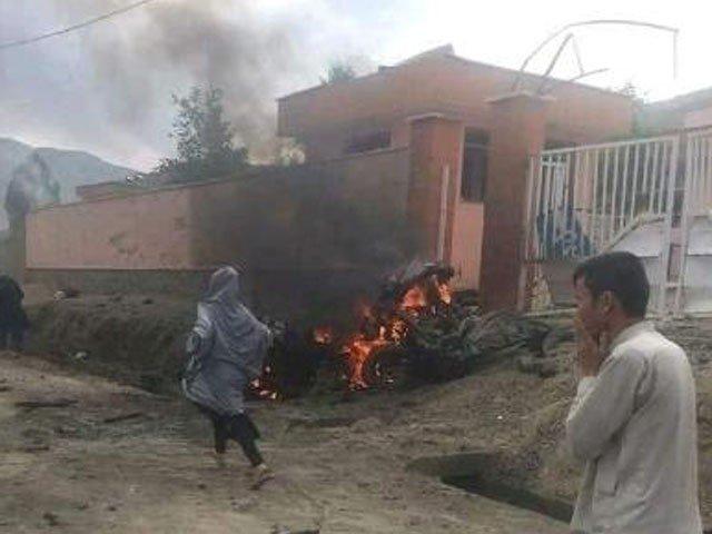 تاحال کسی گروپ نے حملے کی ذمہ داری قبول نہیں کی، فوٹو: افغان میڈیا